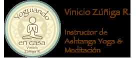 Yoguiando en Casa, Vinicio Zúñiga, profesor certificado de Ashtanga Yoga, clases de yoga y meditación particulares, privadas y para empresas